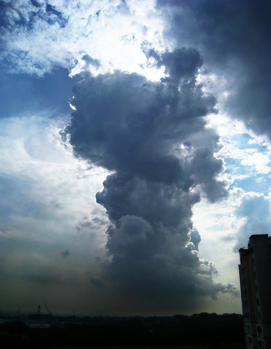 pillar of cloud
